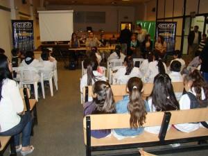 Alumnos de 4° grado participaron en jornada de Concientización Vial