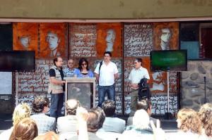 Obra escultórica para homenajear a los 22 trabajadores municipales desaparecidos