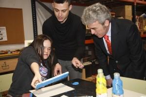 Coordinan acciones para la inclusión laboral de personas con discapacidad