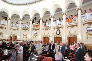 Unicameral: La oposición volvió a insistir en el debate por seguridad y narcoescándalo