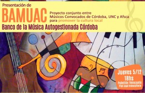 Banco de la Música Autogestionada en Córdoba