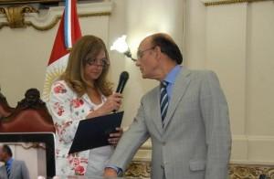 Oscar González juró como presidente provisorio para 2014 PRENSA LEGISLATURA