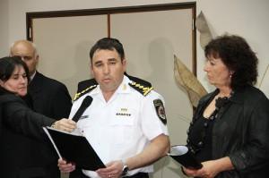 El nuevo Jefe de Policía se mostró autocritico. Dirigente K presentó denuncia penal contra conducta policial