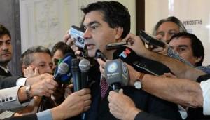 Saqueos/Efecto Córdoba: Capitanich afirmó que debe actuar la justicia. Rechazó sindicalización de la policía
