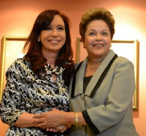 CFK y Rousseff 2