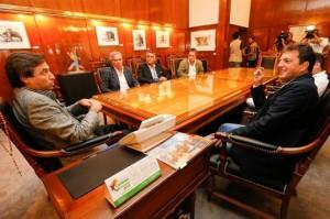 Massa en Córdoba: Se reunió con Mestre y pidió al gobierno K un plan para combatir la inflación