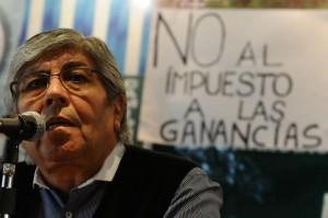 Inflación: CGT Azopardo midió 4,26 por ciento en enero y Moyano reclamó compensación de $3 mil