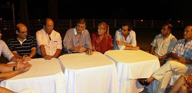 binner, sanz y otros partidos Rosario
