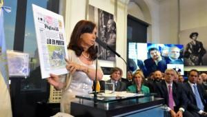 CFK con críticas para todos