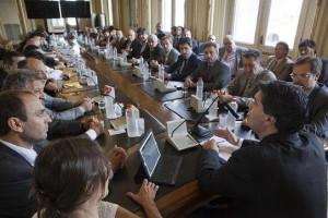 Capitanich con Diputados e Intendentes de Córdoba
