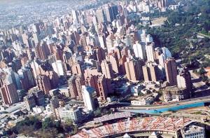 Ciudad de Cordoba vista edificios