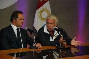 Cónclave De la Sota y Scioli. El gobernador cordobés propuso un gran acuerdo nacional de precios y salarios