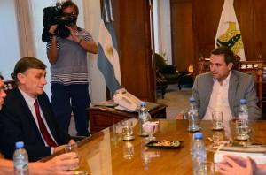 Binner estuvo en Córdoba para ampliar la base de una concertación progresista