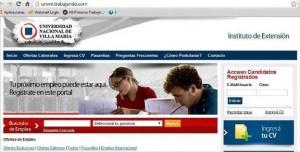 """Universidad de Villa María presentó su """"Portal de Empleo"""""""