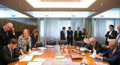 firma acuerdo YPF Repsol 2