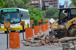 obras darsenas Sólo Bus 1