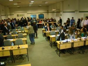 sesion concejo aprobación aumento boleto  25 feb
