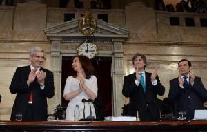 CFK destacó el  crecimiento con inclusión en la década K. Abogó por un vigoroso mercado interno