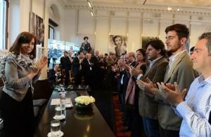 """CFK contra las voces que """"traigan deseos de venganza"""""""