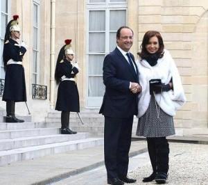 Capitanich destacó el apoyo de Francia por los fondos buitre y el Club de París