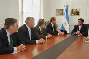 Capitanich recibe a representantes de SanCor.