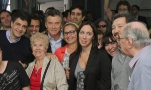 Macri y Vidal en Quilmes