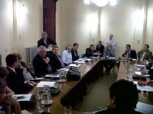 Reunión Conjunta de Comisiones Tasa Vial 20 por ciento 2