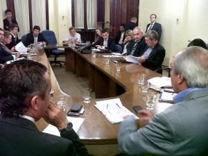 Reunión Conjunta de Comisiones Tasa Vial 20 por ciento