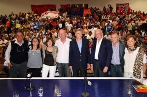 Binner en Córdoba con aliados de la Región Centro