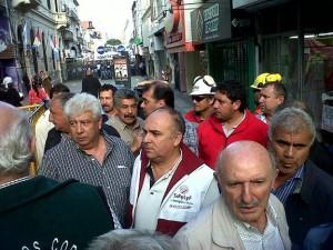 """Protesta gremial de las dos CGT hizo retroceder """"casilleros"""" al proyecto que limita derecho a huelga"""