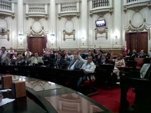 Tasa Vial: Oficialismo (en soledad) aprobó ley por reparto de fondos a municipios