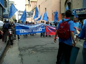 "Incipiente ""pata sindical"" del massimo en Córdoba. La AGEC le hizo un giño a Massa"