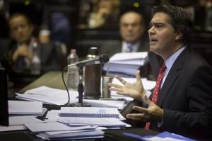 """Diputados: A Capitanich le faltó """"tiempo"""" para responder planteo radical sobre economía y narcotráfico"""