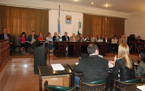 Comisión Reforma Codigo de Faltas en Rio Cuarto