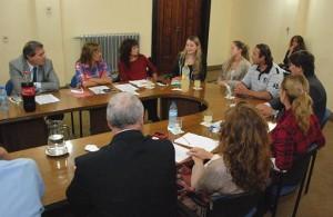 Legisladores se reunieron con los familiares de Mariela Bortot PRENSA LEGISLATURA 3