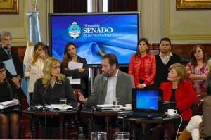 Molina en el Senado sedronar 3