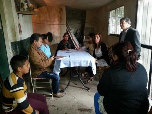 Villa San Alberto trabajo comunitario
