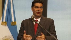 Capitanich justificó proyecto de diputados K para regular movilizaciones y protestas