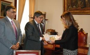 Profundizan relaciones diplomáticas entre Pakistán y Córdoba por acuerdos comerciales