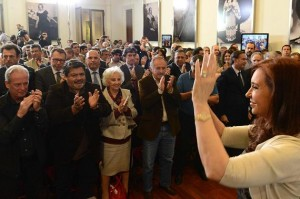 CFK anuncio aumento AUH 2