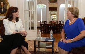 Agenda de Bachelet en la Argentina. Se reúne con CFK, la Corte Suprema y con parlamentarios en el Senado