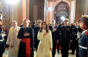 CFK y Poli Catedral
