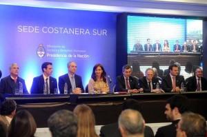 CFK con mensaje crítico a jueces por inacción en los 90 por privatizaciones