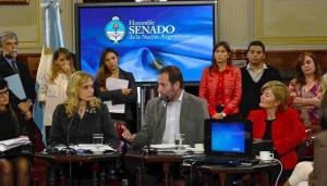 Molina en el Senado sedronar