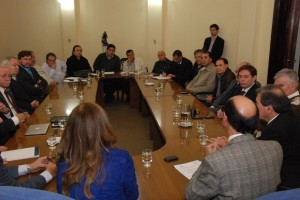 Primera reunión de la comisión multisectorial PRENSA LEGISLATURA 1