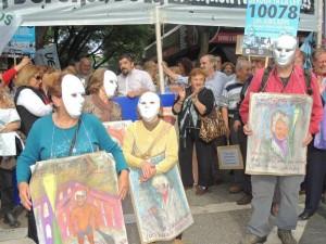 Protesta jubilados UEPC legislatura