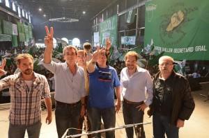 """Festejo K: Randazzo llamó  a defender """"modelo"""" y cargó contra los que se """"disfrazan de peronistas"""" promocionados por grupos económicos"""