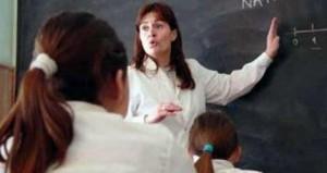 docente en el aula