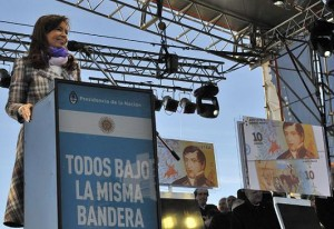 CFK en Rosario Dia de la Bandera
