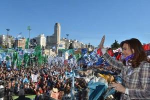 CFK en Rosario Dia de la Bandera 14